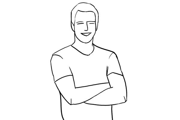 Позирование: позы для мужского портрета 1