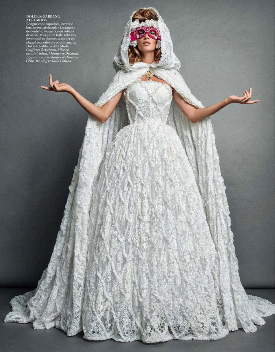 -двойная- Жизель Бюндхен / Gisele Bundchen by Inez & Vinoodh in Vogue Paris november 2013