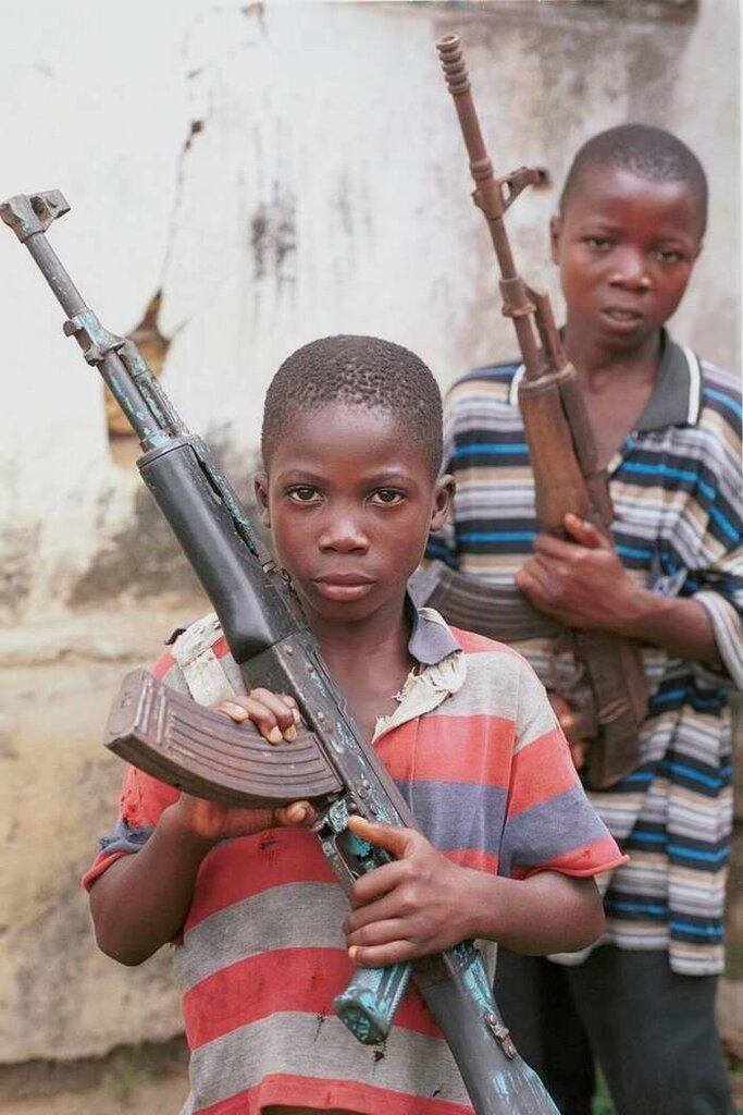 Дети солдаты - Сомали (6)