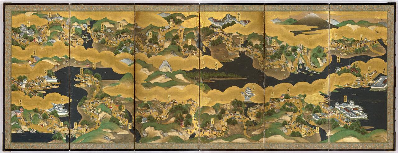 Японская карта 1850