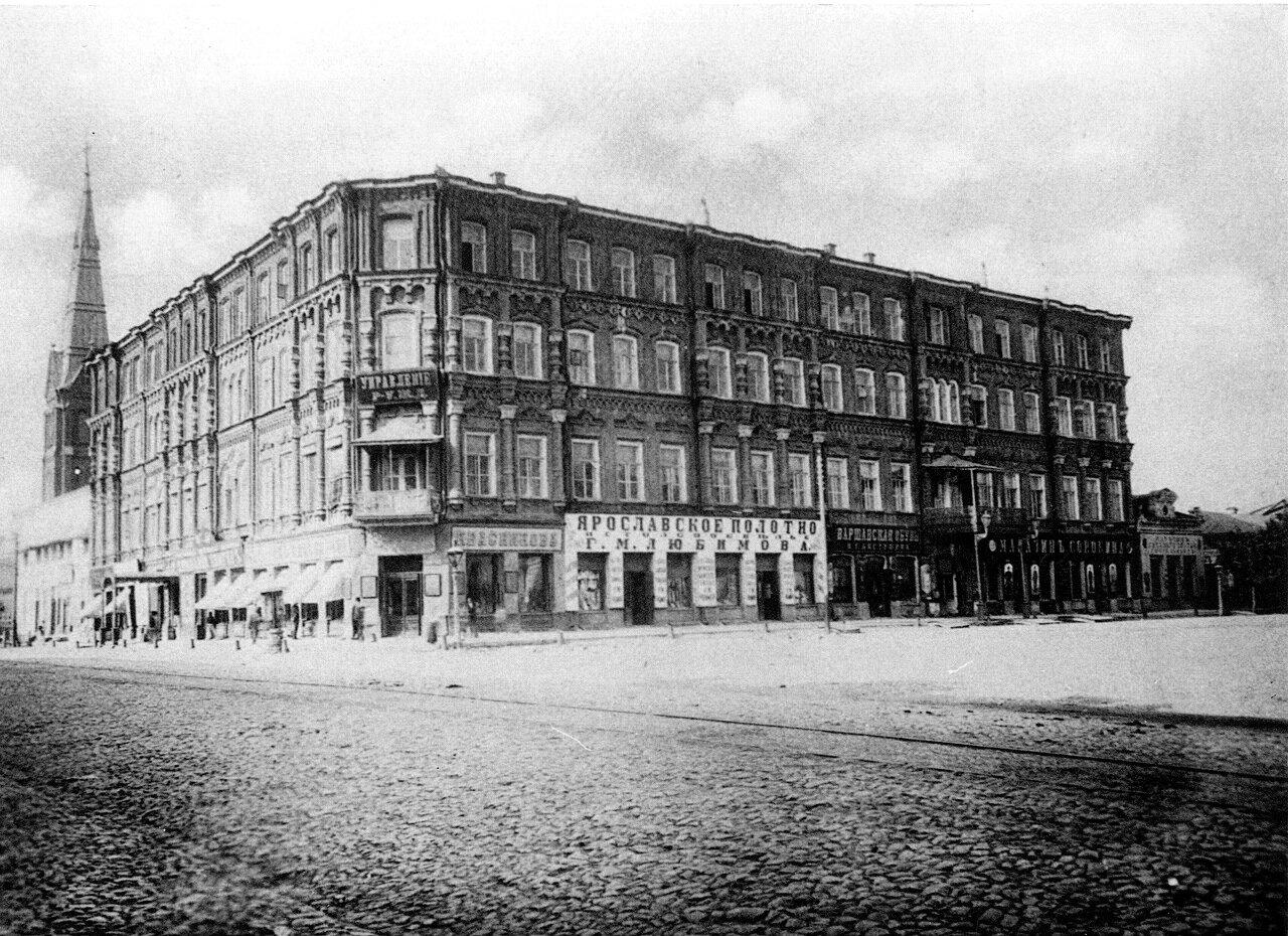Старое здание Управления РУЖД