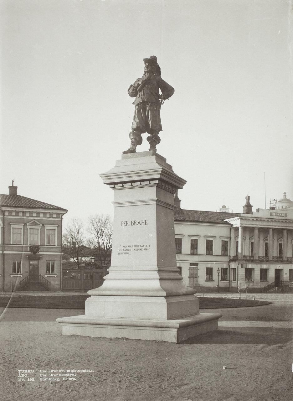 Памятник основателю города, астроному Пер Браге, Турку