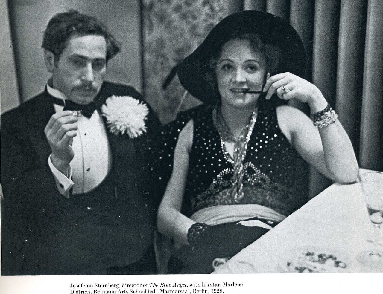 1928. Йозеф фон Штернберг с Марлен Дитрих, Берлин
