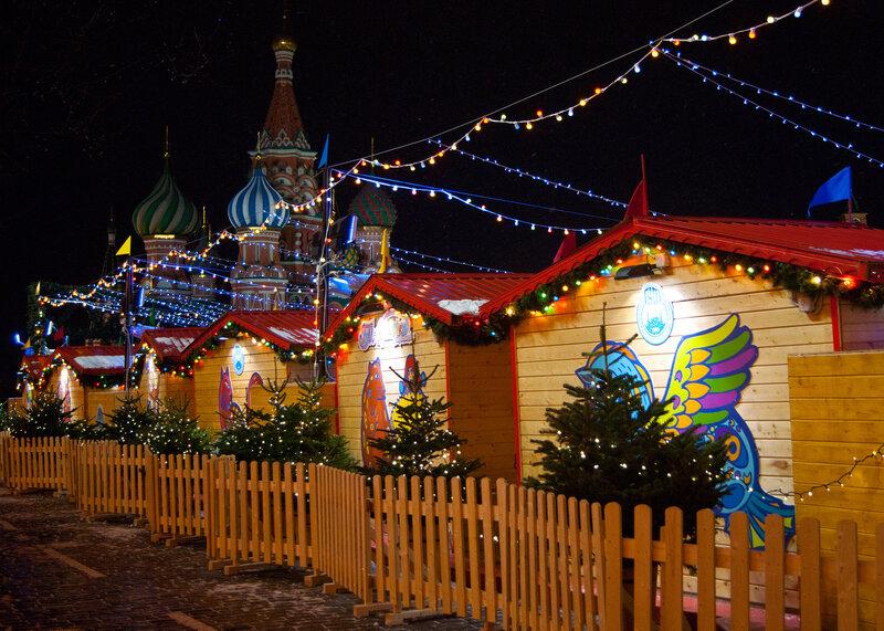 Новогодняя ярмарка на Красной