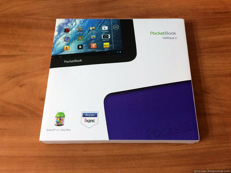 PocketBook SURFpad 2 - удобный бюджетник PocketBook SurfPad 2