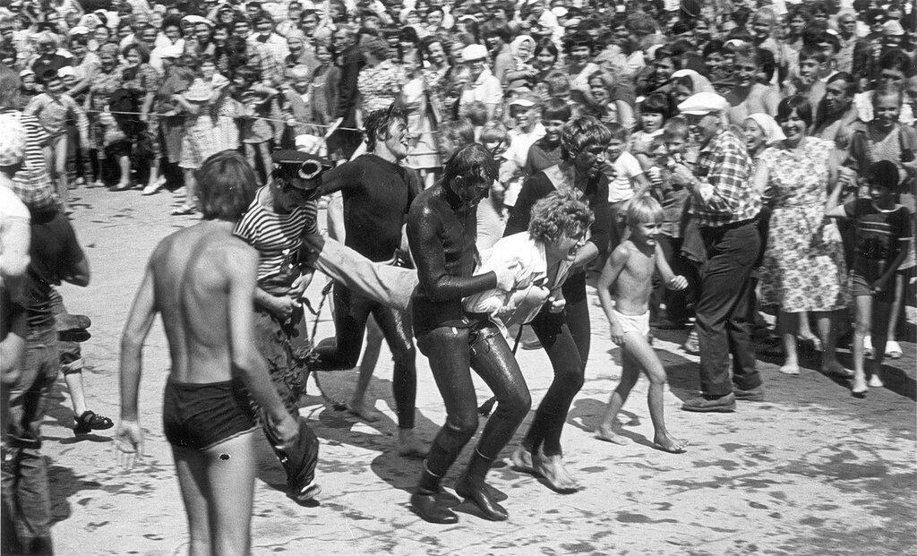 Chelyabinsk. Summer 1974. Neptune festival