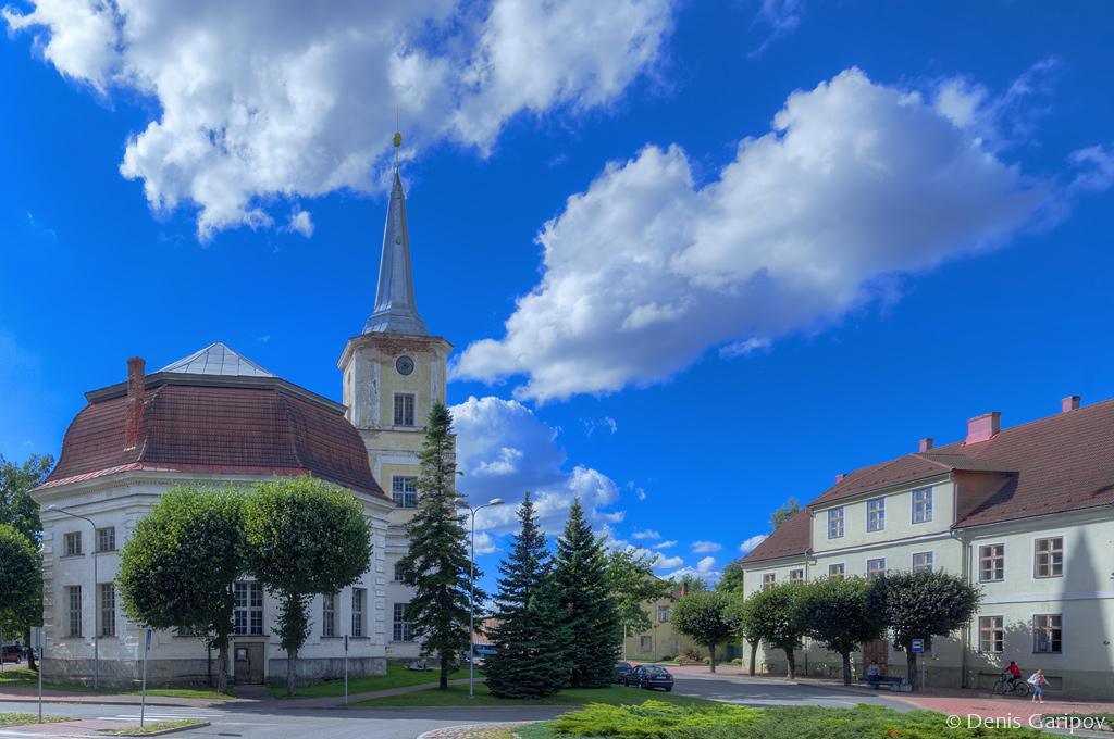 Церковь Святого Иоанна в городе Валга