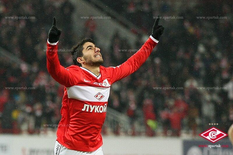 «Спартак» vs «Волга» 6:1 Премьер-лига 2013-2014 (Фото)