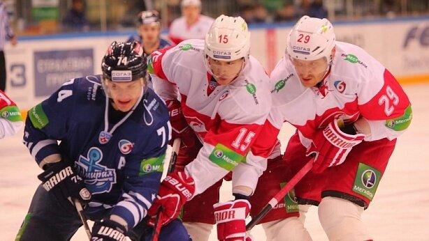 «Адмирал» vs «Спартак» 1:2 чемпионат КХЛ 2013-2014 (Фото)