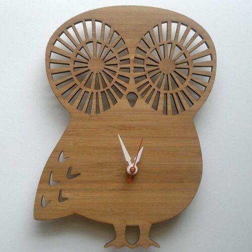 Настенные часы в виде зверюшек