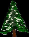 дерево  - ель  - зима.png