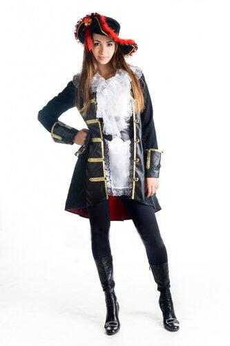 Женский карнавальный костюм Пиратский френч