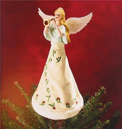 Верхушка на ёлку своими руками ангел