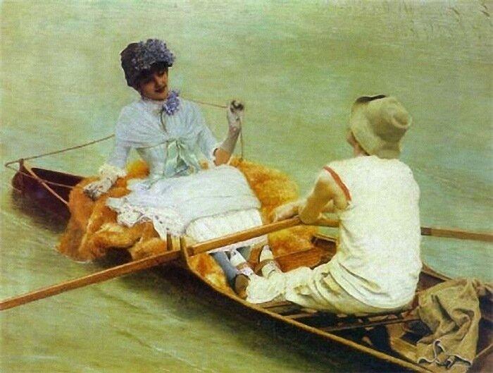 Бельгийский художник Jan Van Beers (1852 – 1927)