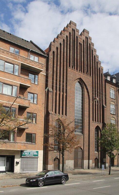 Копенгагена.  Copenhagen. Bethlehemskirkens - Вифлиимская церковь