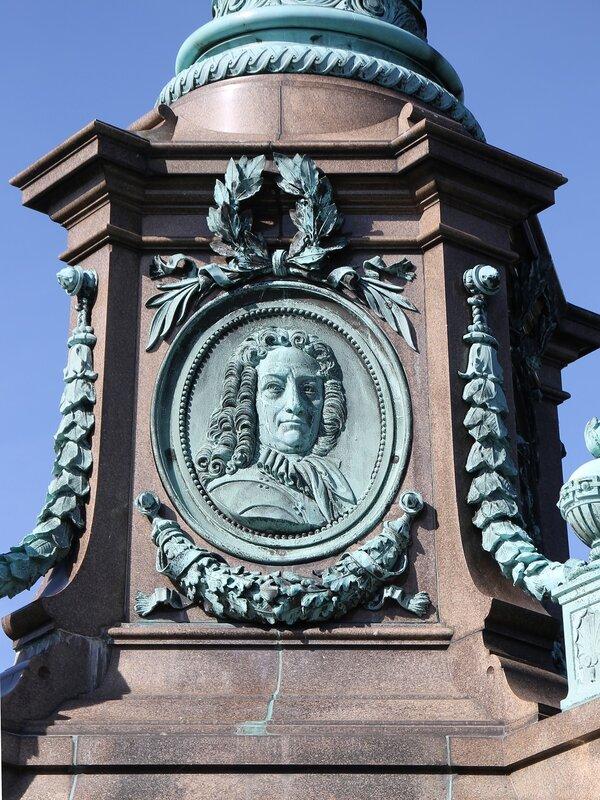 Копенгаген. Колонна Хюитфельда (Ivar Huitfeldt Column)