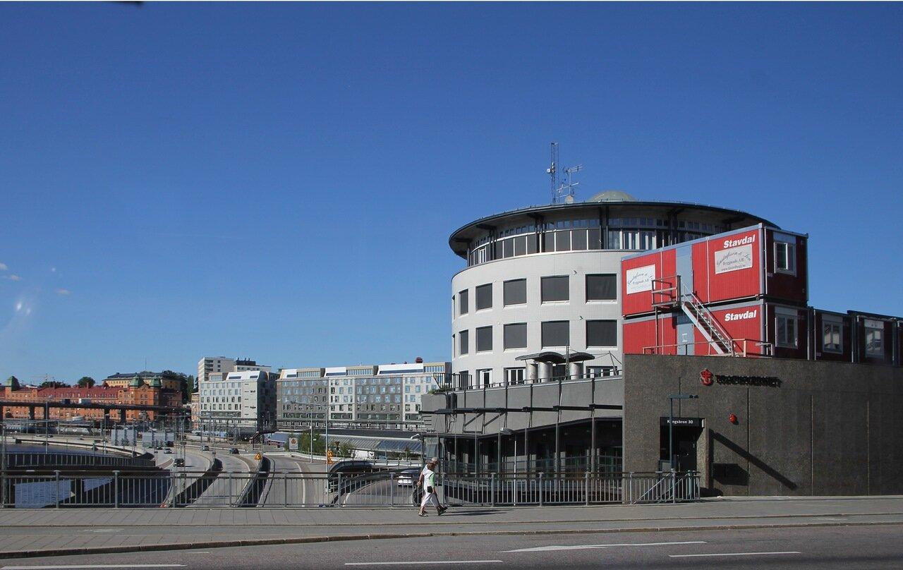 Стокгольм, Кунгсхольмен - Королевский остров. Stocholm, Kungsholmen