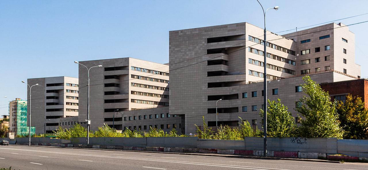 Корпус Боткинской больницы.
