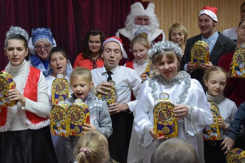 Новогодние сказочные гости в Алчевской духовной лечебнице