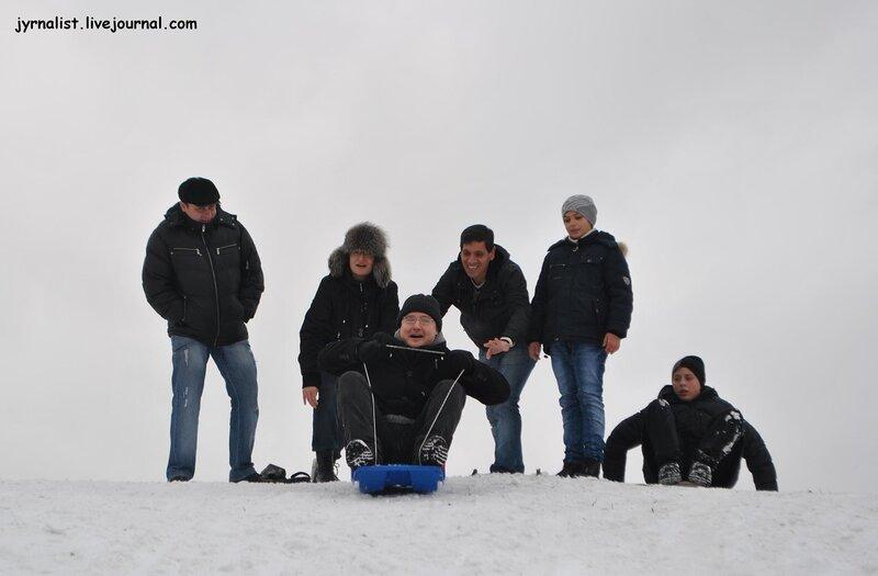 блоггеры на санках луганск 14 декабря 2013