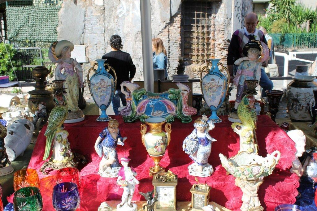 Рим. Блошиный рынок и барахолка Порта-Портезе