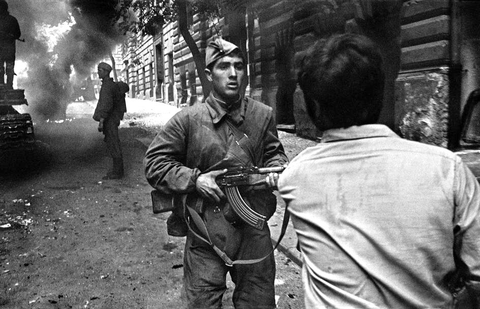 Прага, август 1968