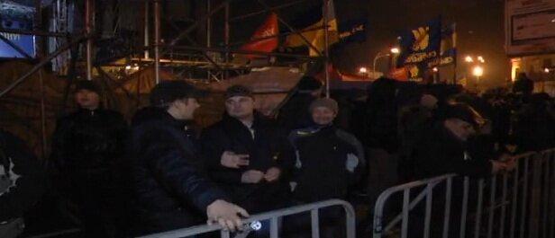 Евромайдан за оградкой