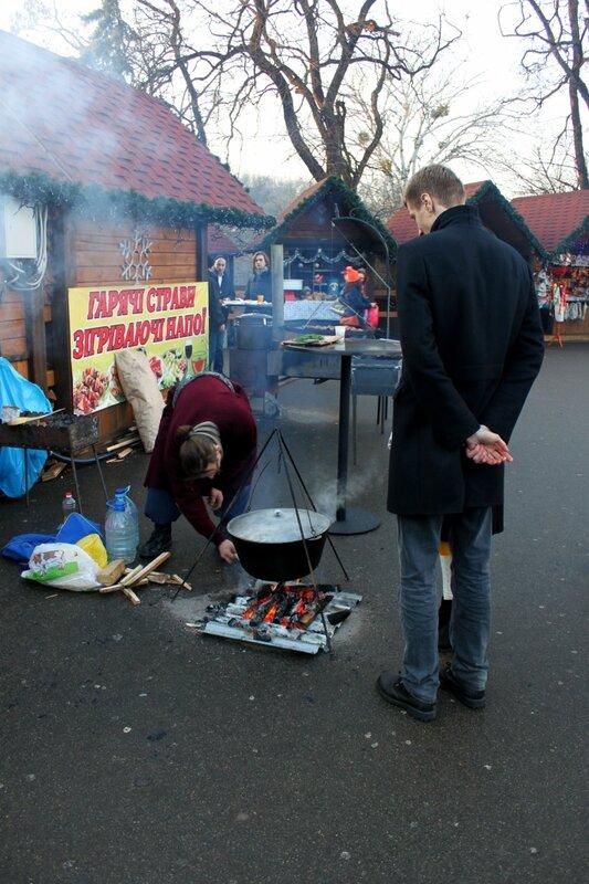 Приготовление горячих блюд