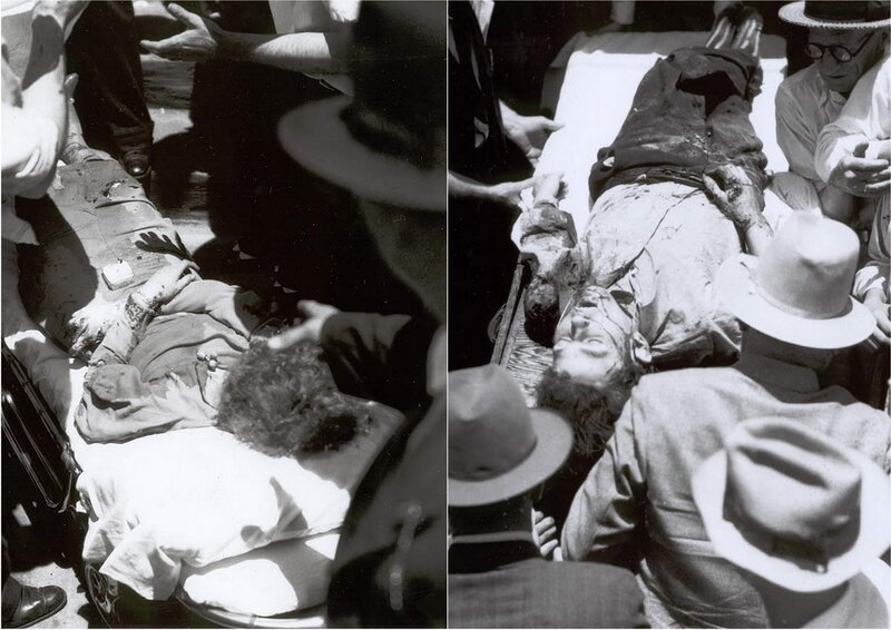 бонни и клайд фото убитые