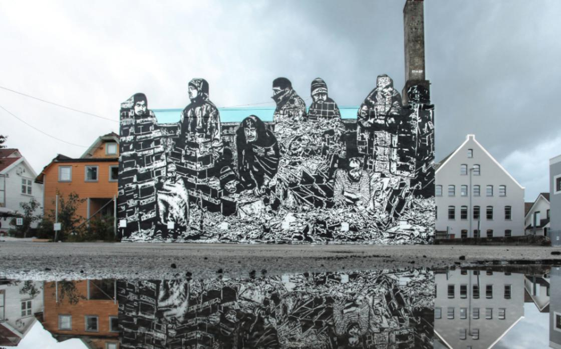 No Borders – Le street art engage et percutant de ICY and SOT