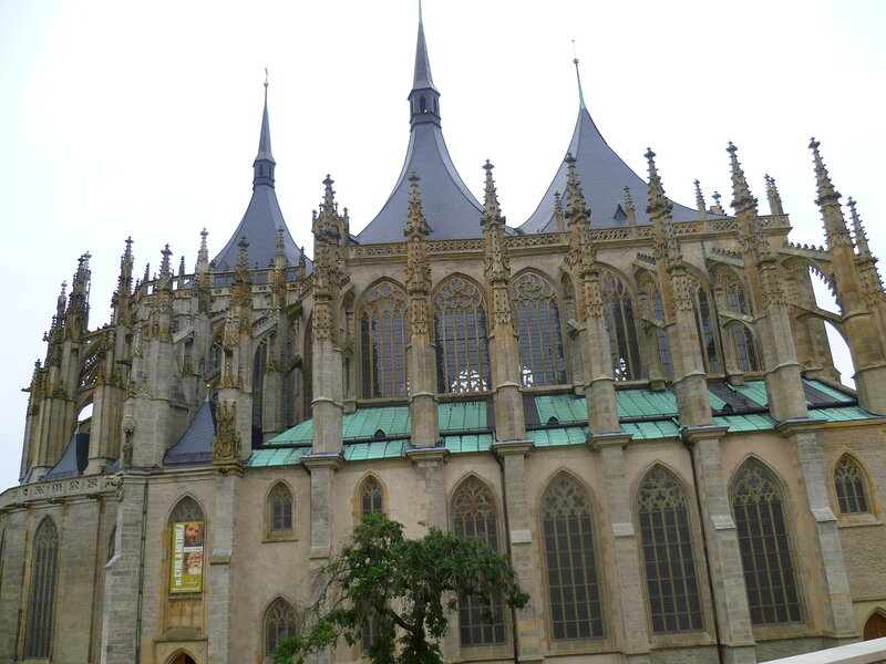 Чехия, Кутна Гора - собор Святой Варвары (Czech Republic, Kutna Hora - Cathedral of St. Barbara)