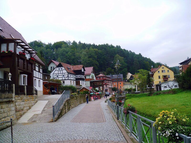 Германия, Курорт Ратен (Germany, Kurort Rathen)