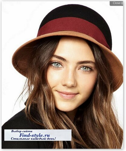 красивые шляпы, шляпка клош, Catarzi
