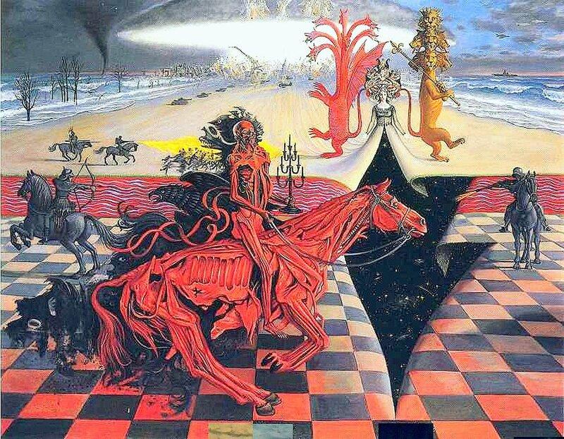 О шахматах, черно-белая тема