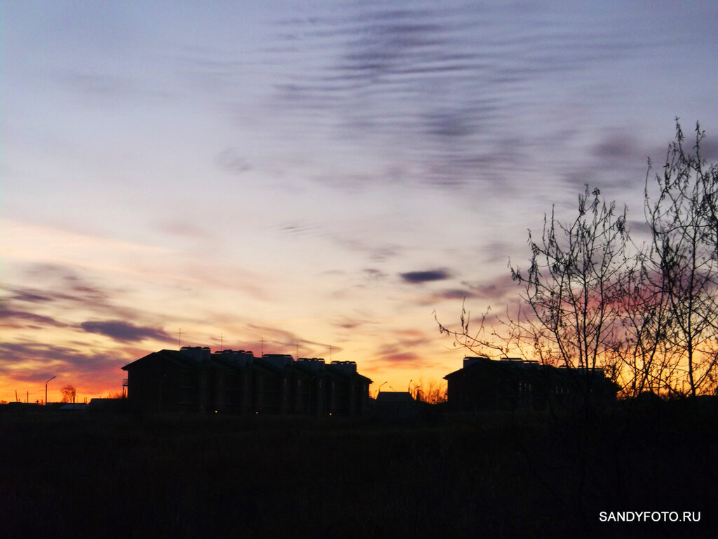 Красивое небо в Троицке