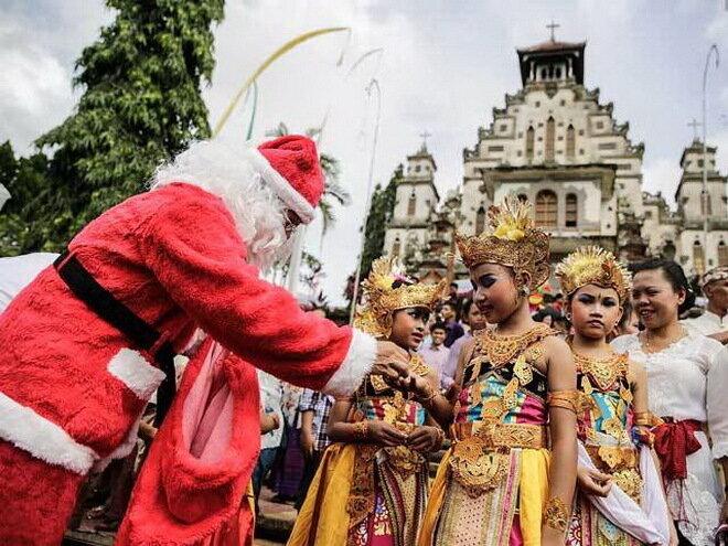 Рождество в мире 2013