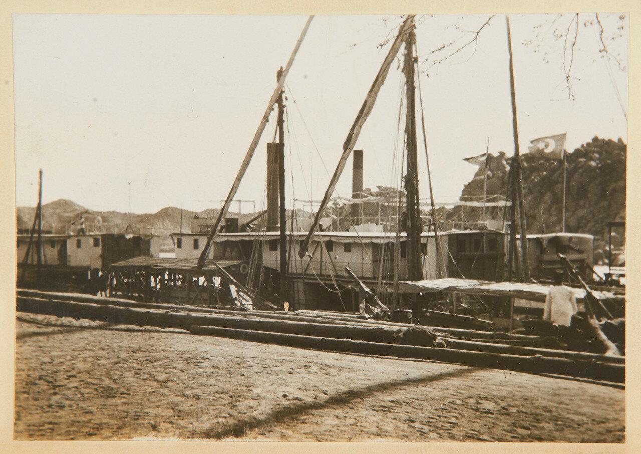 Ассуан. Заднеколёсное судно