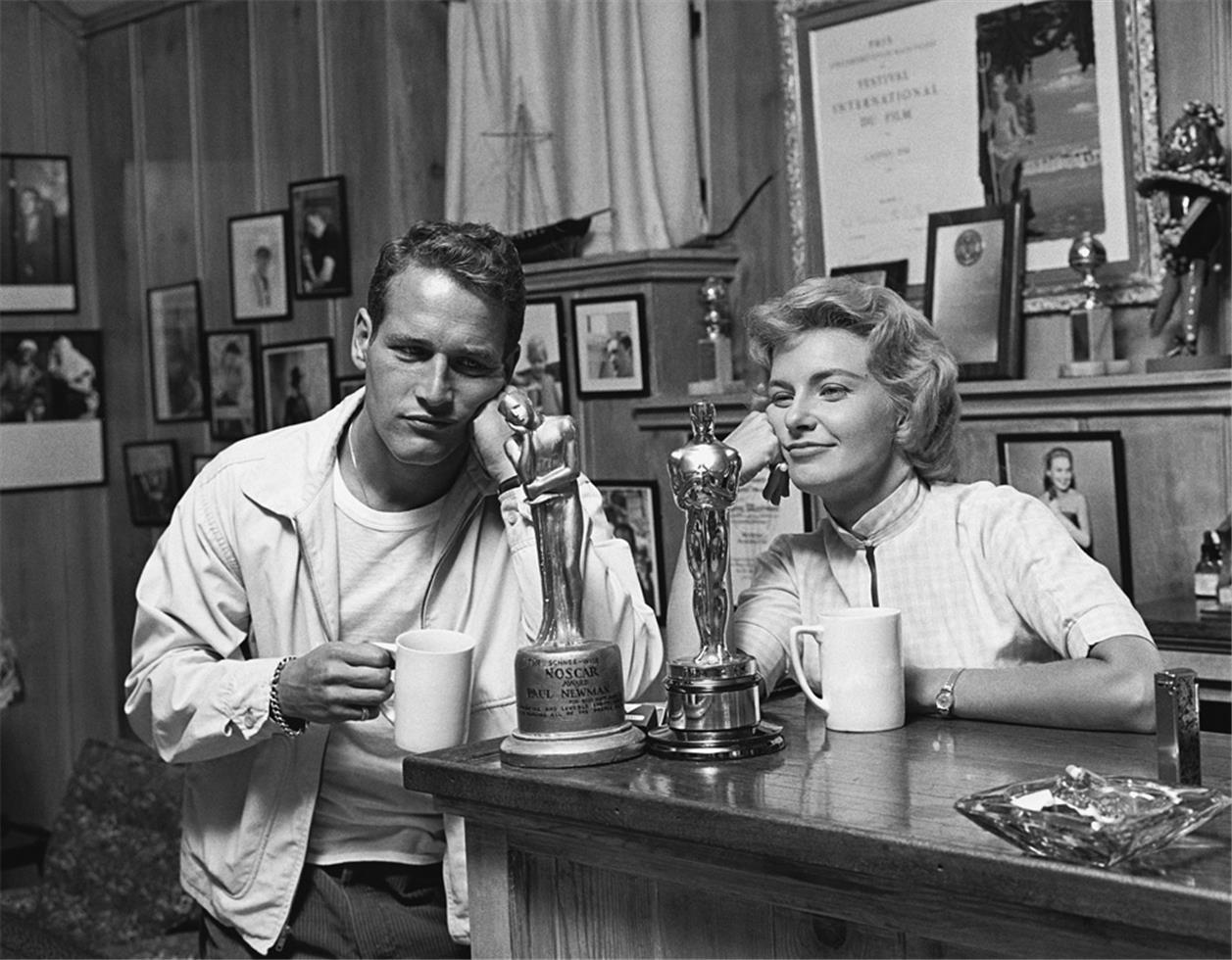 1958. Пол Ньюман и Джоан Вудворд