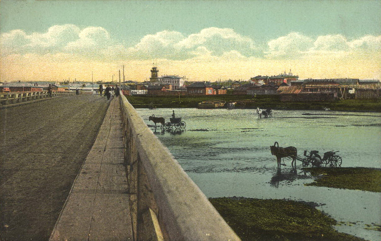 Острожный мост через Ушаковку