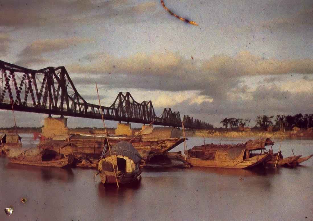 Ханой. Мост Поля Думера,1915