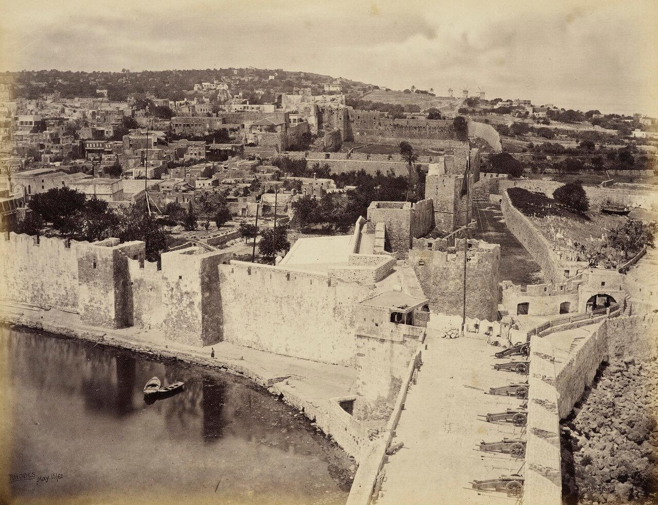 15 мая 1862. Родос, предполагаемое место Колосса