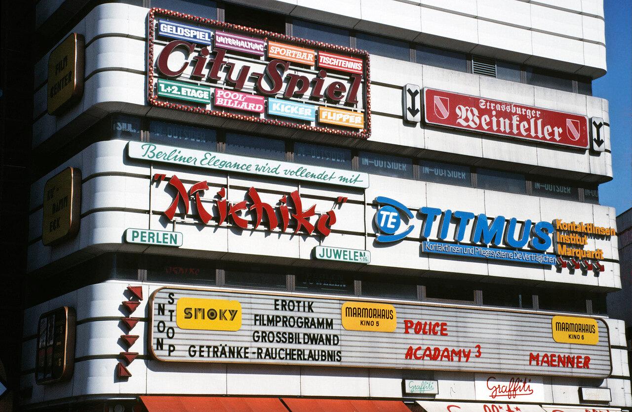 AGFA 100 S, Minolta 7000,14. bis 17. Juni 1986. Westberlin.