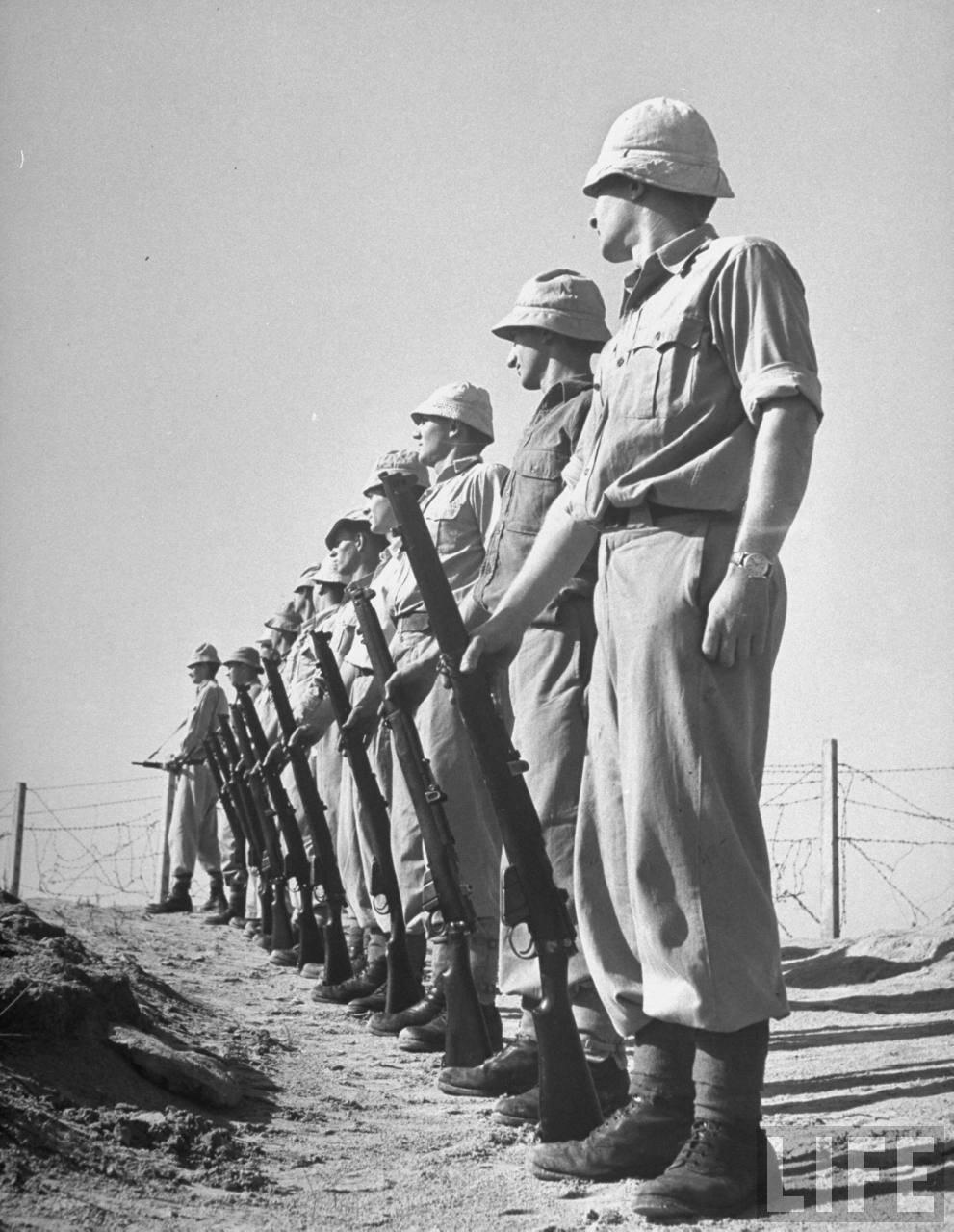 1948. Члены «Хаганы» на учениях