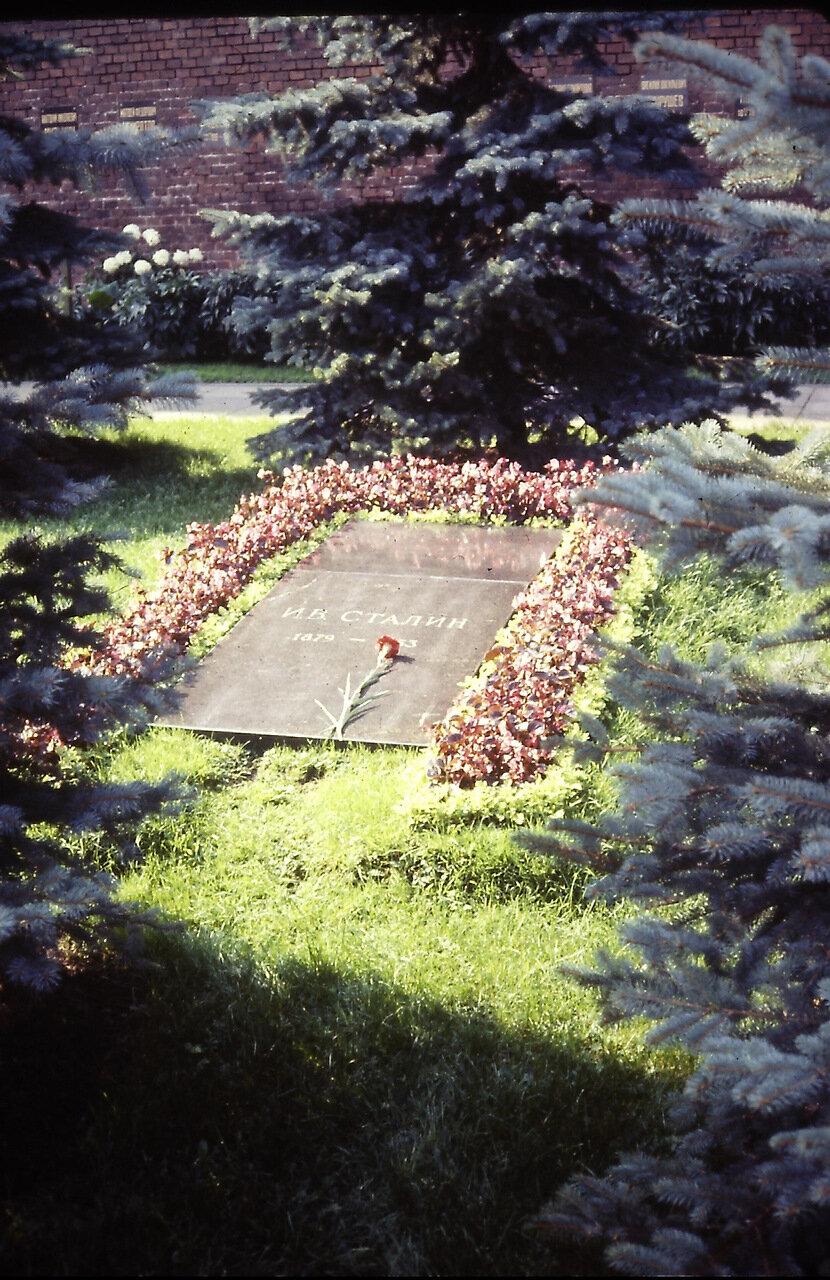 Joseph Stalin's grave