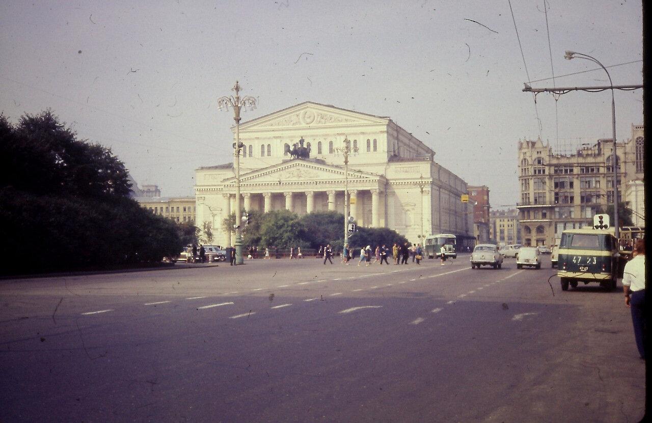 Bolshoi, Moscow, USSR