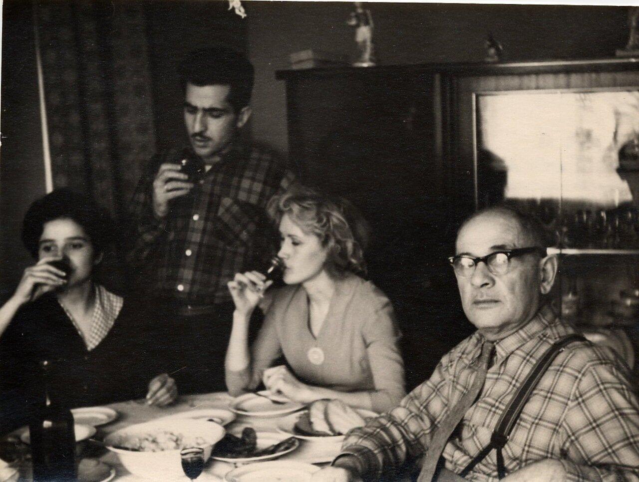 Застолье 1958-1959 годов