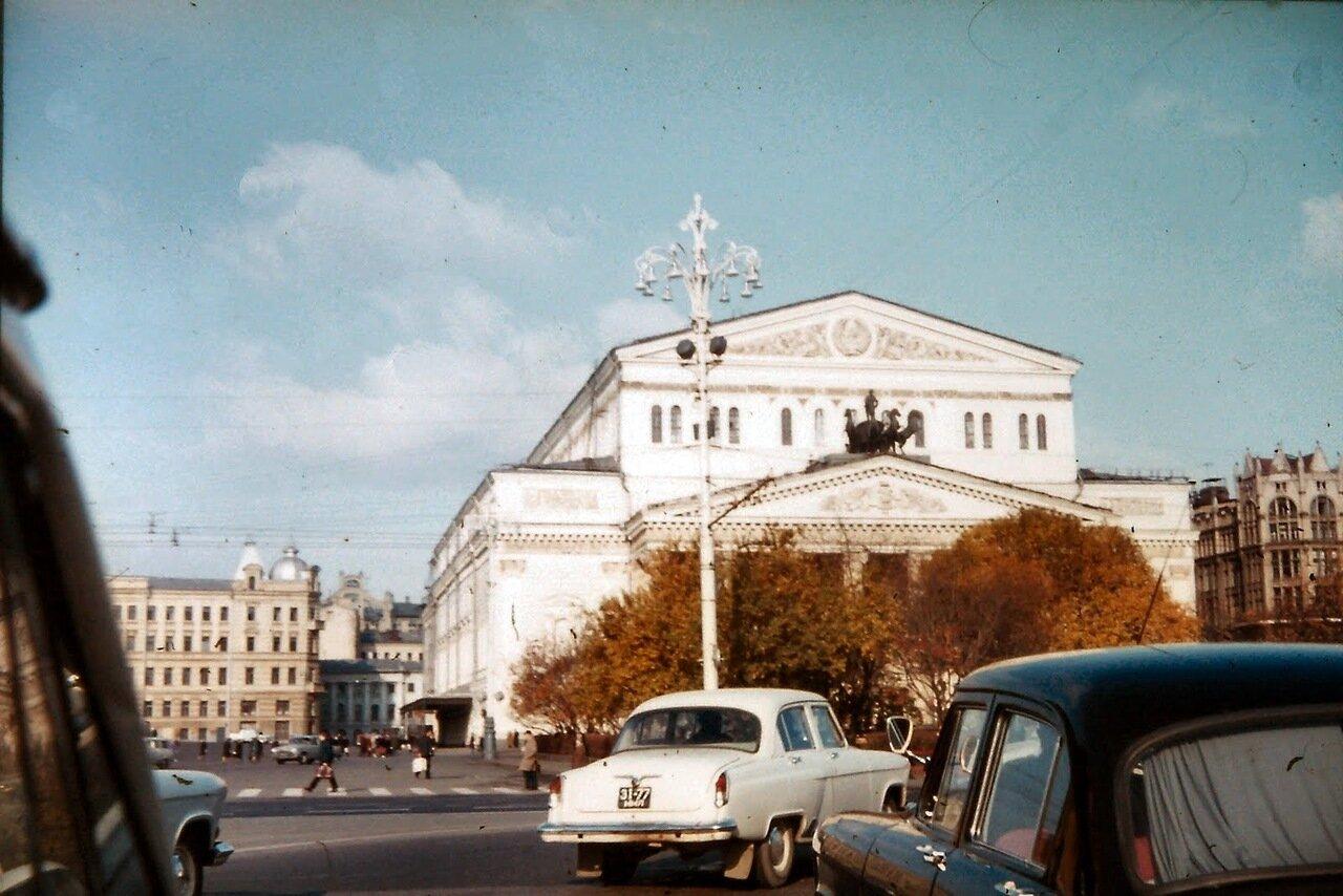 MOSCOU - Le théâtre Bolchoï
