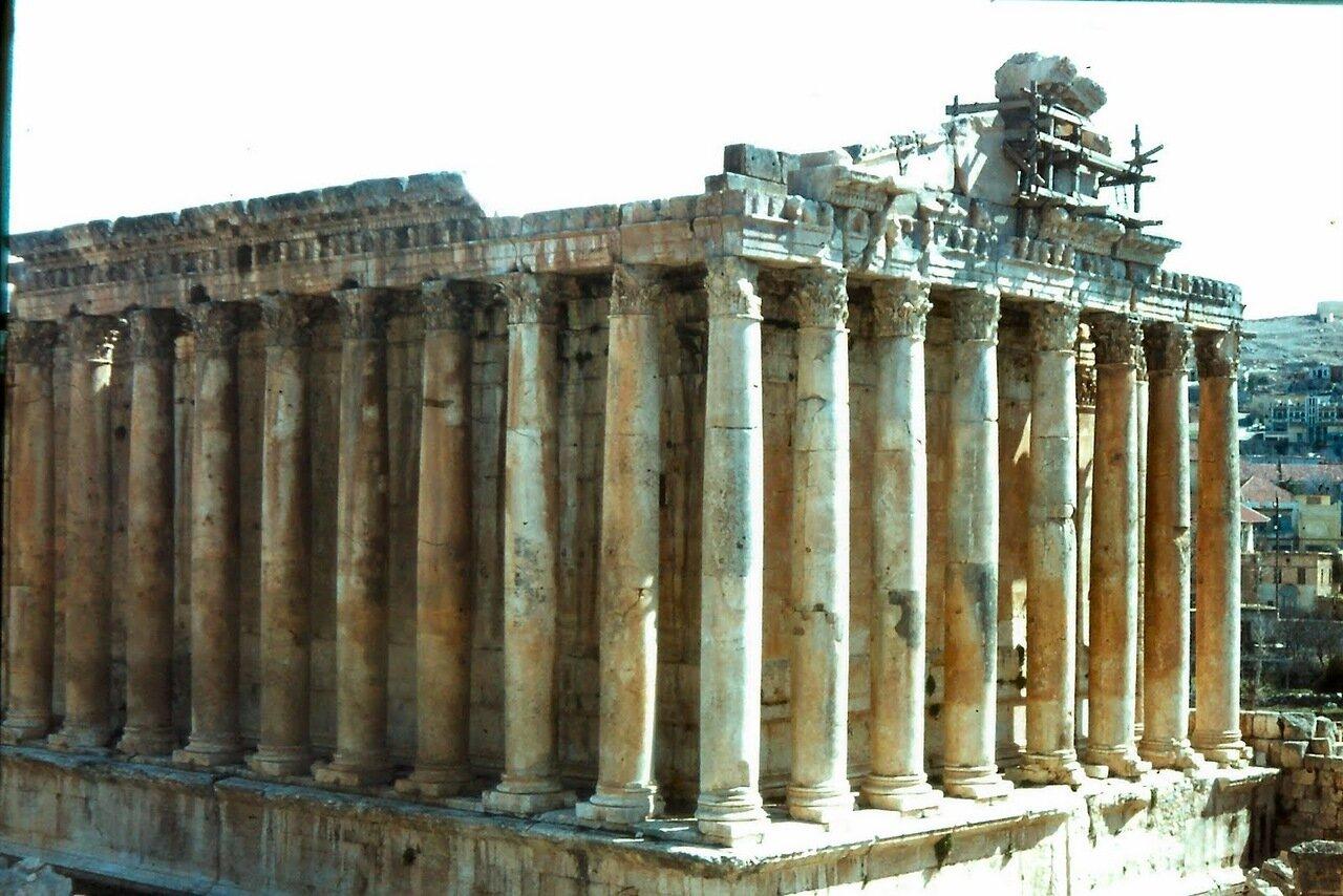 Le temple de Bacchus, un des temples les mieux conservés du monde gréco-romain,