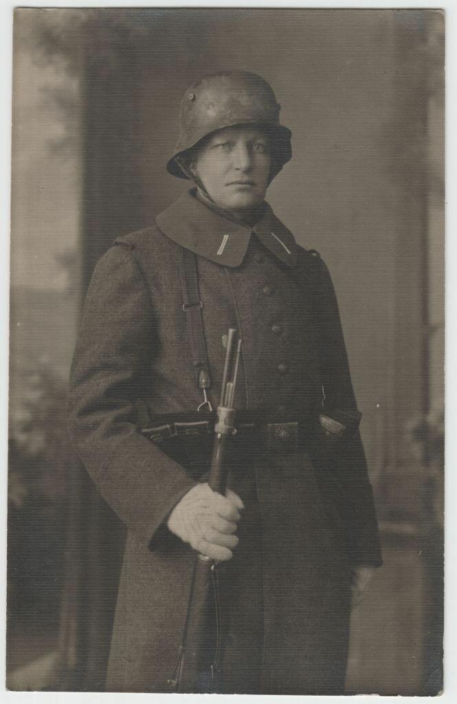 1918. Гвидо Майделл в Прибалтийском ландесвере