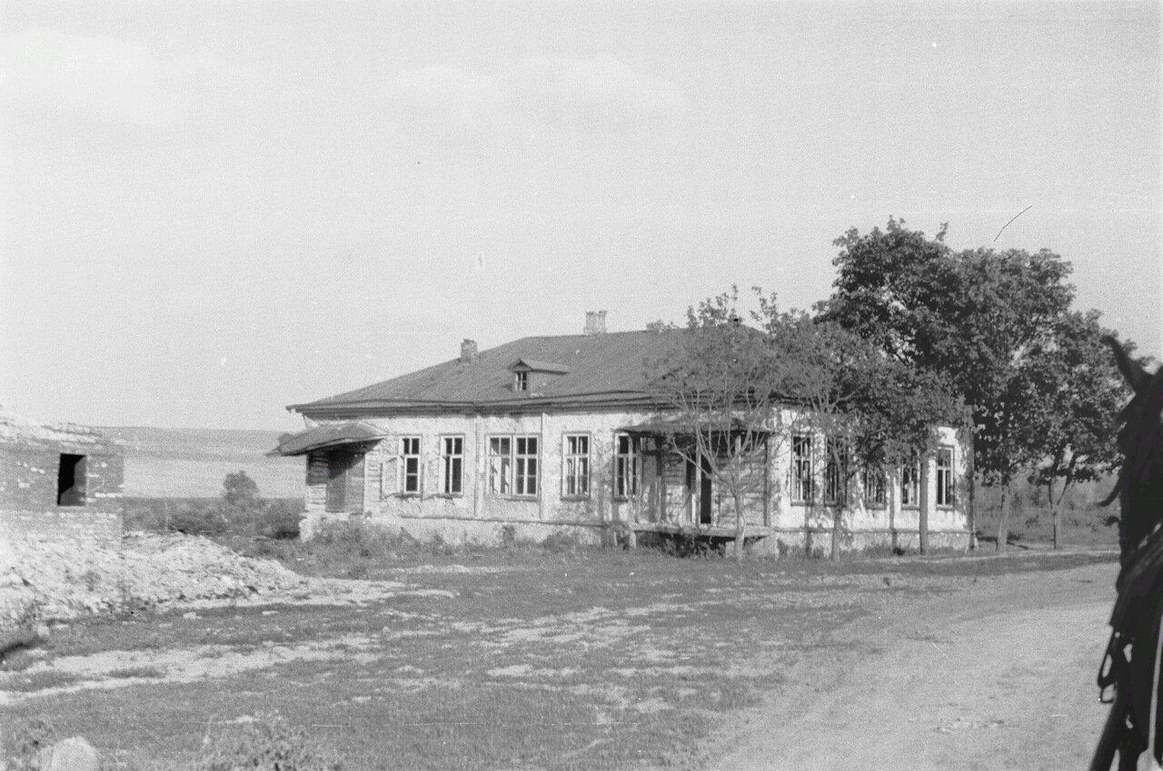 Белгородская область. Вид на дом (возможно, в Лучках)